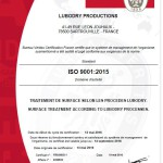 Certificat LUBODRY - ISO 9001